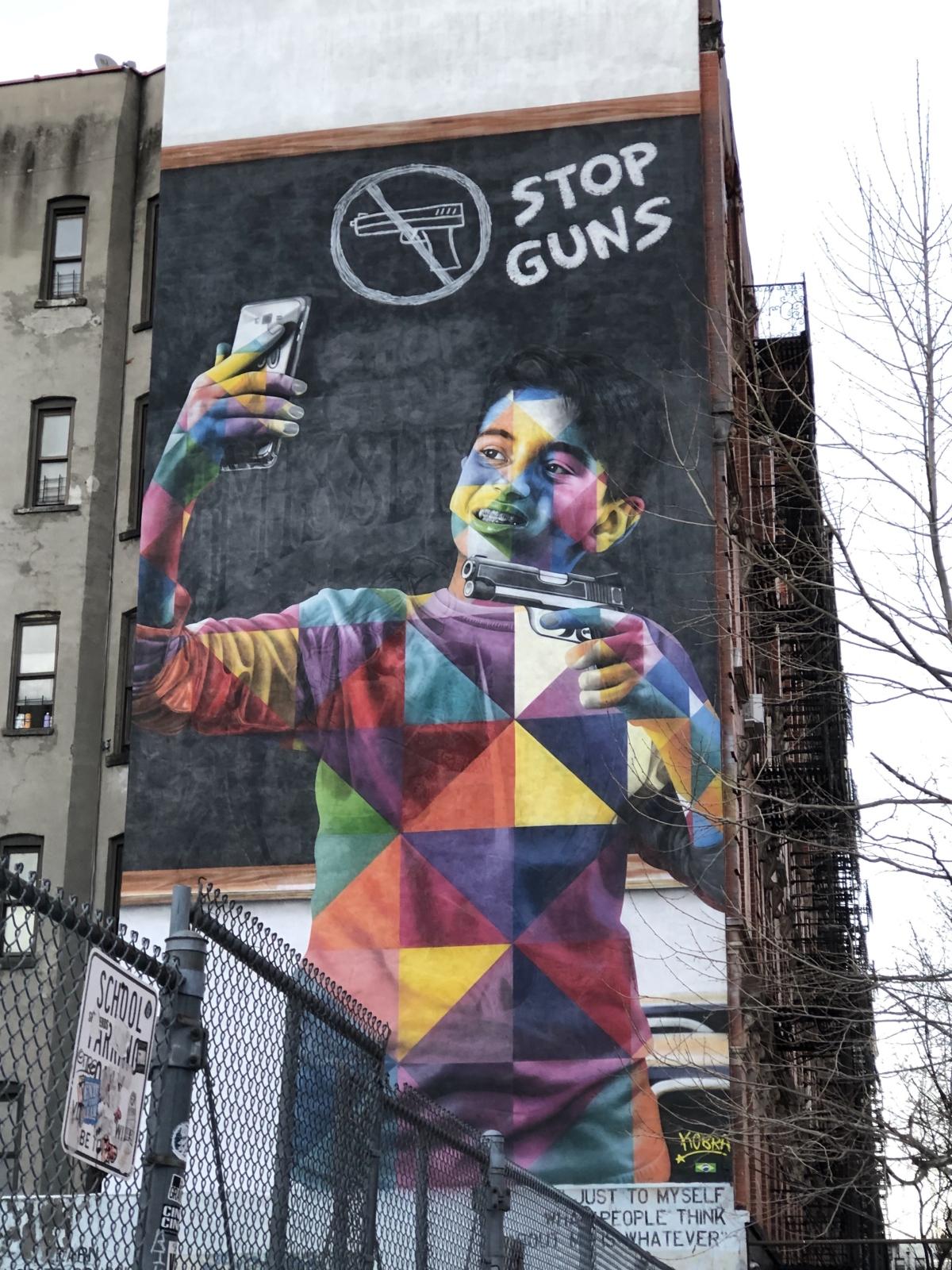 Dónde están los murales de Kobra en Nueva York?